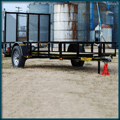 Rice 3500# Utility Gate Trailer