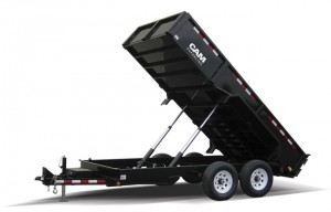 CAM Superline Heavy Duty Dump Trailer