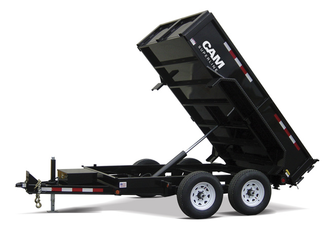 CAM Superline Standard Duty Dump Trailer Blue Ridge