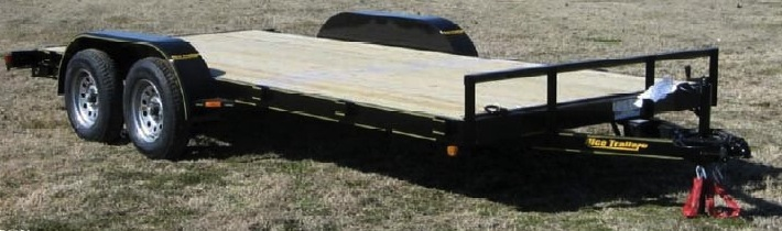 Rice Trailers Economy Flatbed