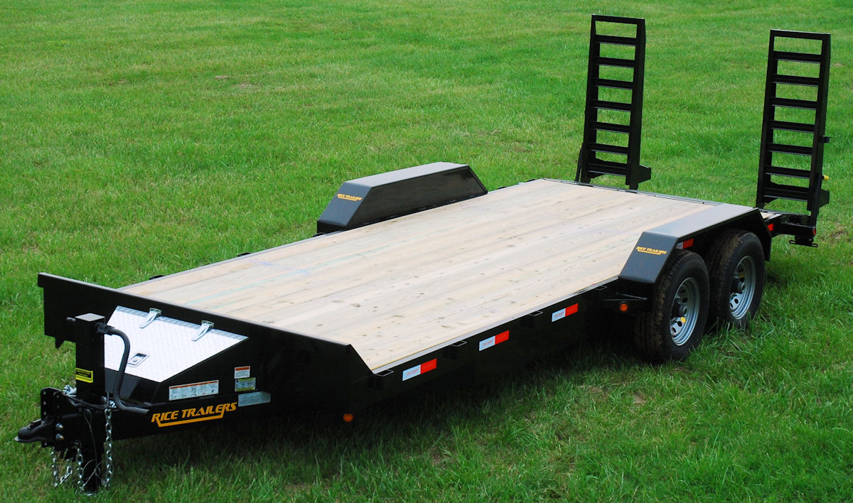 Rice Hd Magnum Flatbed Trailer Blue Ridge Trailers