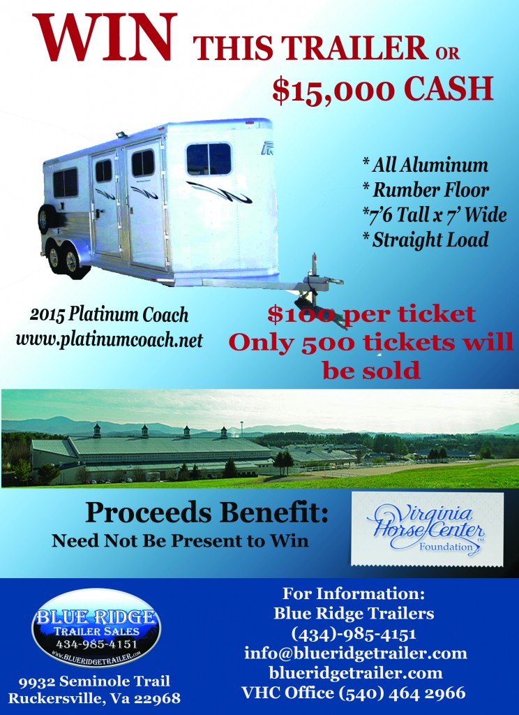 Trailer Raffle Poster With BP 2015