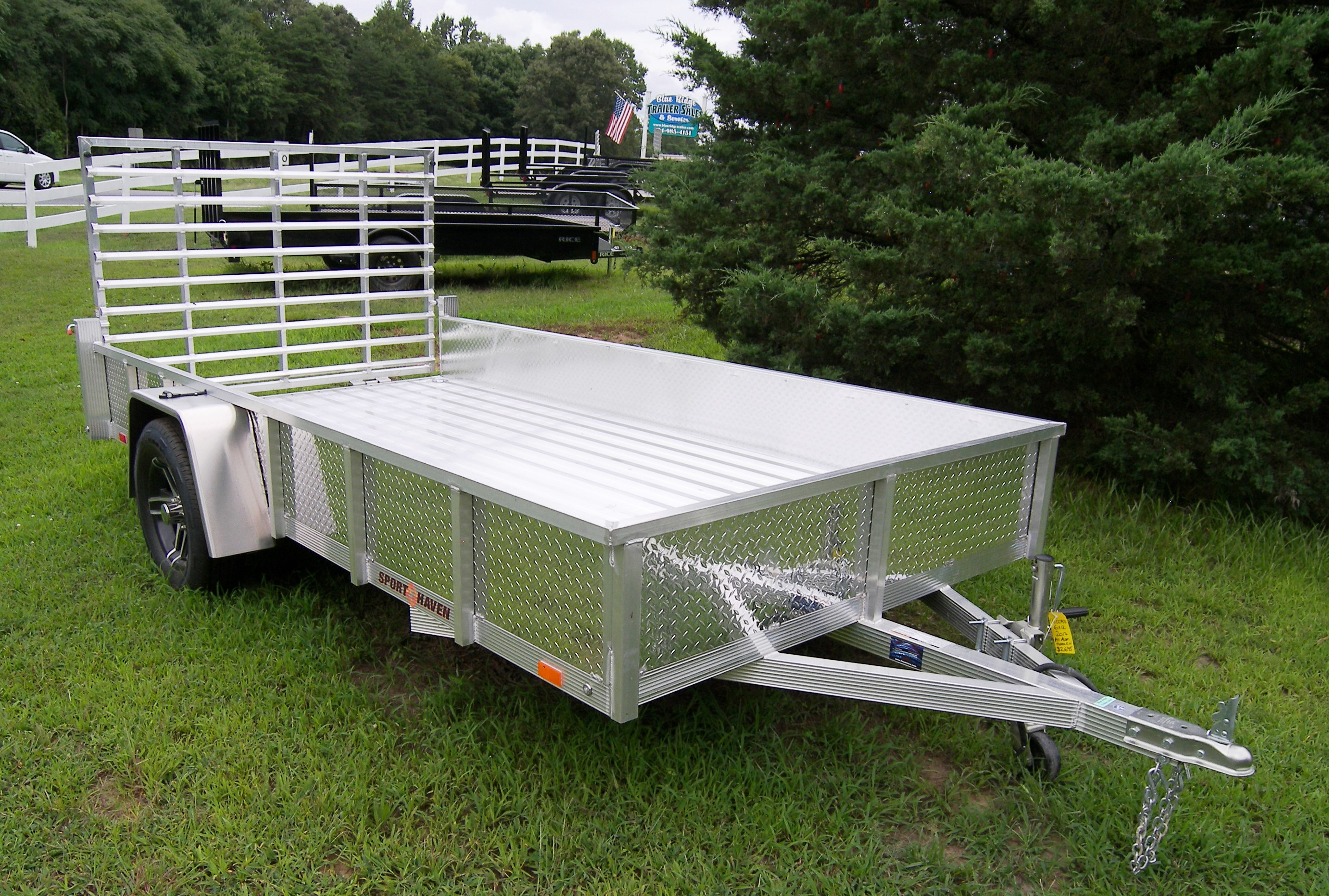 sport haven utility trailers all-aluminum