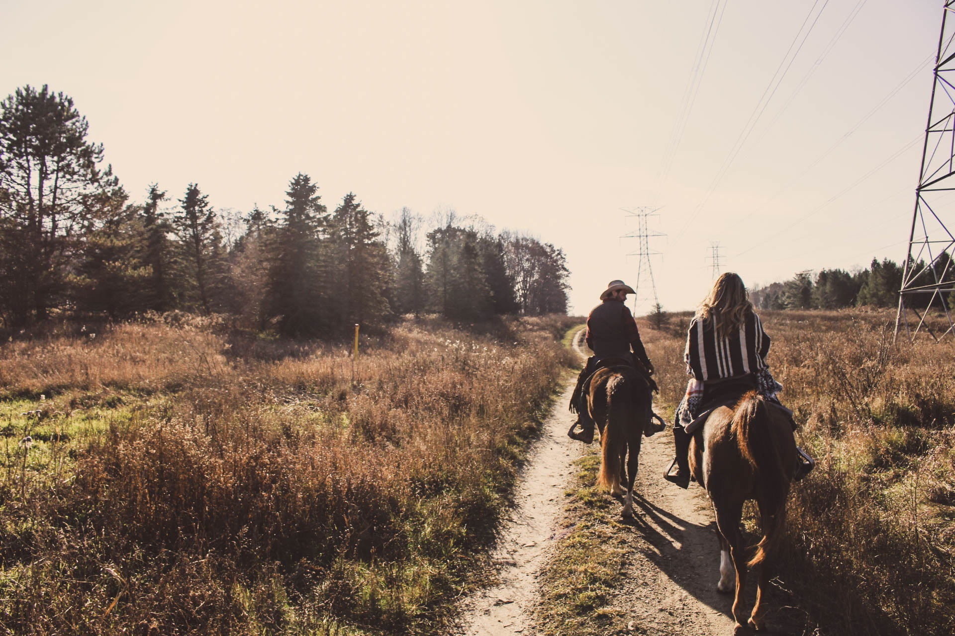 horse trail riding etiquette