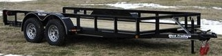 Rice Trailers Deluxe Tandem Utility