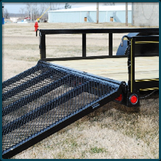Rice Utility Trailer Gate
